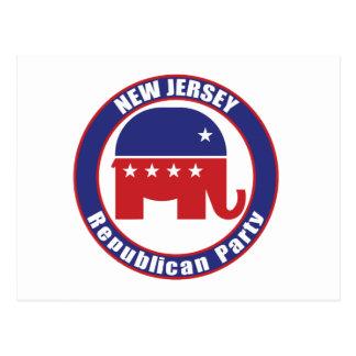 Carte Postale Parti Républicain de New Jersey
