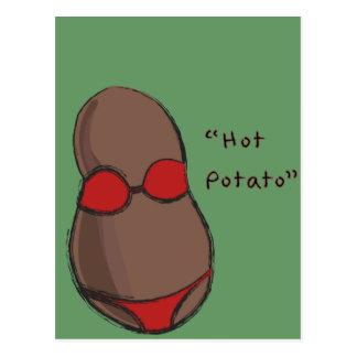 Carte Postale Patate chaude