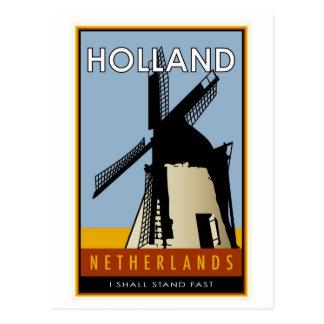 Carte Postale Pays-Bas
