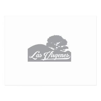 Carte Postale Paysage de Las Virgenes gris-foncé