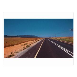 Carte Postale Paysage de route de Cape Town
