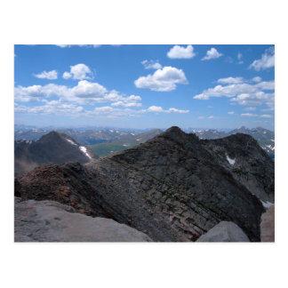 Carte Postale Paysage lunaire de montagnes rocheuses du Colorado