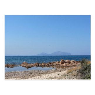 Carte Postale Paysage marin de la Sardaigne en été