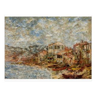 Carte Postale Paysage marin près de Marseille (village