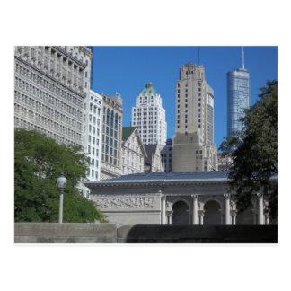 Carte Postale Paysage urbain de Chicago