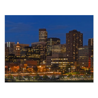 Carte Postale Paysage urbain de Denver