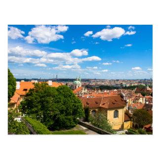 Carte Postale Paysage urbain de Prague