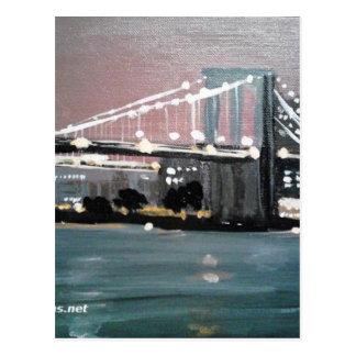 Carte Postale Paysage urbain foncé
