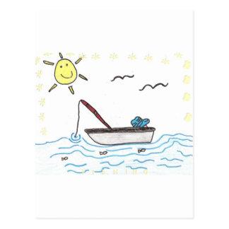 Carte Postale pêche
