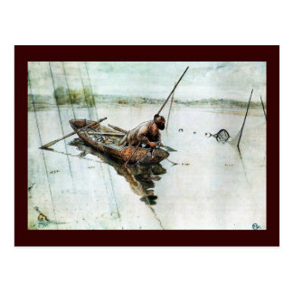 Carte Postale Pêche avec les filets 1905