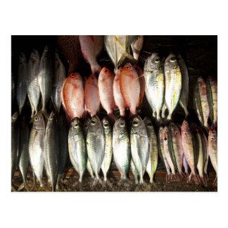 Carte Postale Pêchez au marché, ville de Kalabahi, l'île d'Alor,