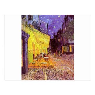 Carte Postale Peintures de Vincent van Gogh : Café de Van Gogh