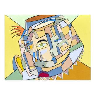 """Carte Postale """"Pensées complexes"""" par Ruchell Alexandre"""