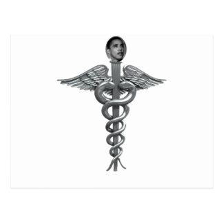 Carte Postale personnel médical d'obama