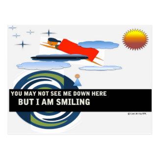 Carte postale personnelle de super héros