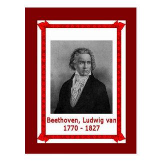 Carte Postale Personnes célèbres, Ludwig van Beethoven 170-1827