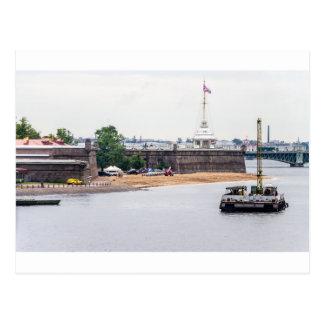 Carte Postale Peter et forteresse St Petersburg Russie de Paul