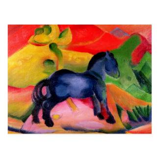 Carte Postale Petit Horse bleu, 1912