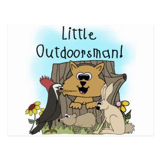 Carte Postale Petit Outdoorsman