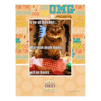 Carte Postale Petits pains de Warmin heure-milliampère