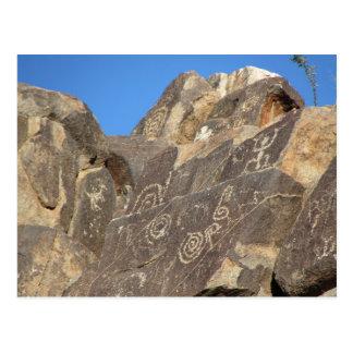 Carte Postale Pétroglyphes