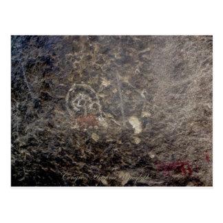 Carte Postale Pétroglyphes du congrès