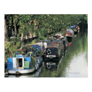 Carte Postale Peu de Venise à Londres, Angleterre