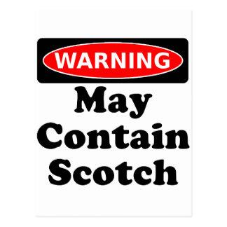 Carte Postale Peut contenir écossais