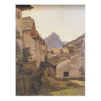 Carte Postale Pfamgasse dans St Wolfgang par Ferdinand Georg