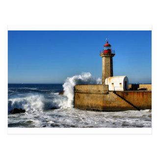 Carte Postale Phare à Porto