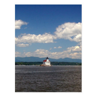 Carte Postale Phare du fleuve Hudson