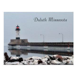 Carte Postale Phare Duluth Minnesota