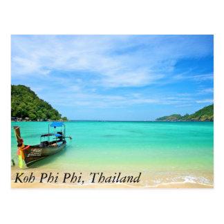 Carte Postale Phi de phi de KOH, Thaïlande