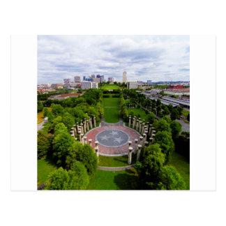 Carte Postale Photo d'antenne de Nashville