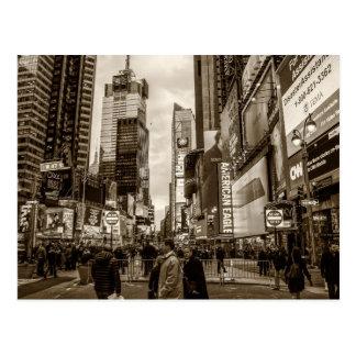 Carte Postale Photo de Times Square à New York City
