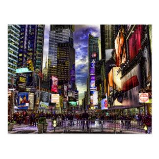 Carte Postale Photo de Times Square dans HDR