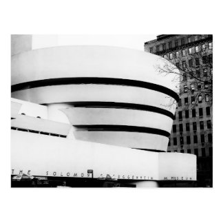 Carte Postale Photo du musée de Guggenheim à New York City
