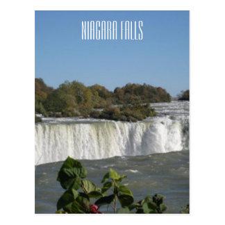 Carte Postale Photographie de chutes du Niagara