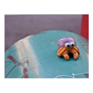 Carte Postale Photographie urbaine désagréable de rue du crabe