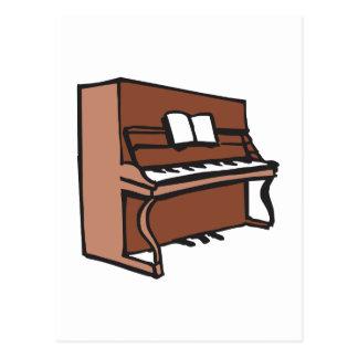 CARTE POSTALE PIANO DROIT