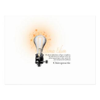 Carte Postale Pièce en t de Thomas Edison