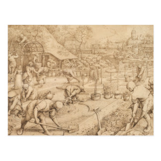 Carte Postale Pieter Bruegel l'aîné - ressort
