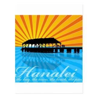 Carte Postale Pilier de Hanalei