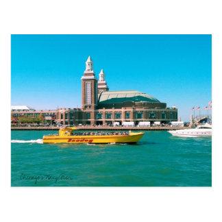 Carte Postale Pilier de la marine de Chicago