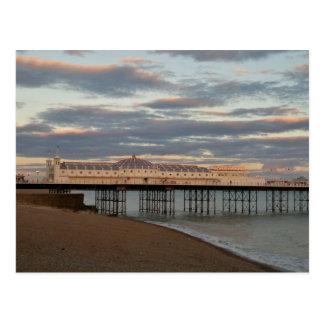Carte Postale Pilier de palais de Brighton