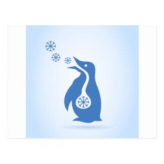 Carte Postale Pingouin