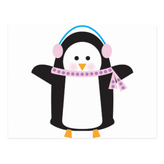 Carte Postale Pingouin frais