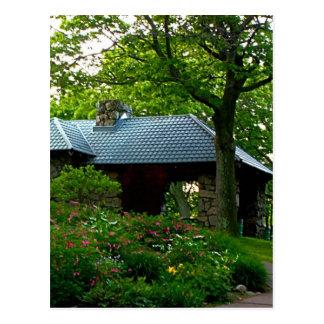 Carte Postale Pique-nique de jardin