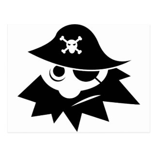 Carte Postale Pirate