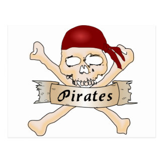 Carte Postale Pirates